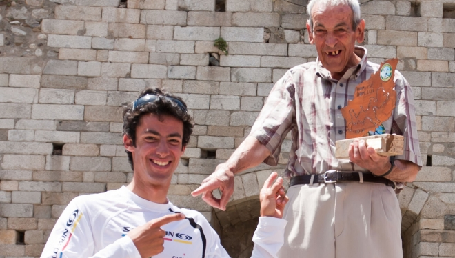 Paco y Kilian en la Volta a Cerdenya