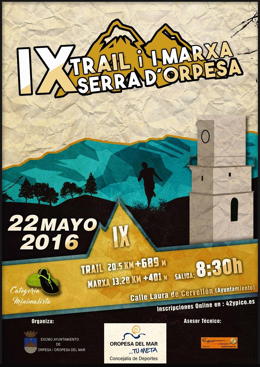 TRAIL SERRA DORPESA 2016
